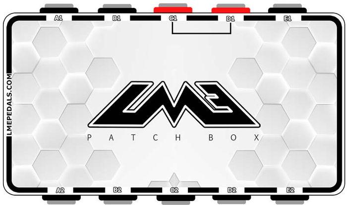 LME pedals patch box