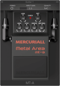 Boss Metal Zone VST plugin Metal Area Mercuriall