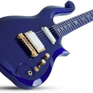 Prince Schecter Purple Rain Guitar Cloud