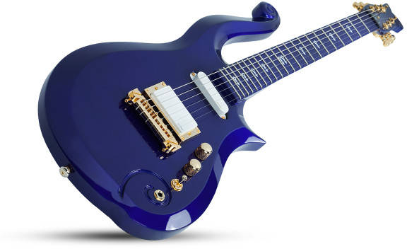 Prince Schecter Purple Rain Guitar Cloud
