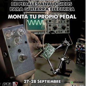 Curso de fabricación de pedales analógicos para guitarra
