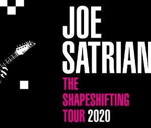Joe Satriani: nuevo disco y BACKING TRACKS de Surfing With The Alien gratis